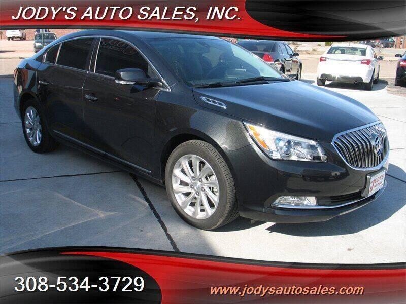 2014 Buick LaCrosse for sale at Jody's Auto Sales in North Platte NE