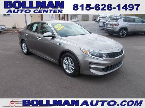 2017 Kia Optima for sale at Bollman Auto Center in Rock Falls IL