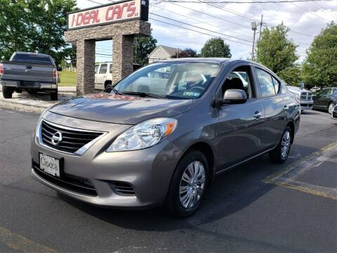 2012 Nissan Versa for sale at I-DEAL CARS in Camp Hill PA