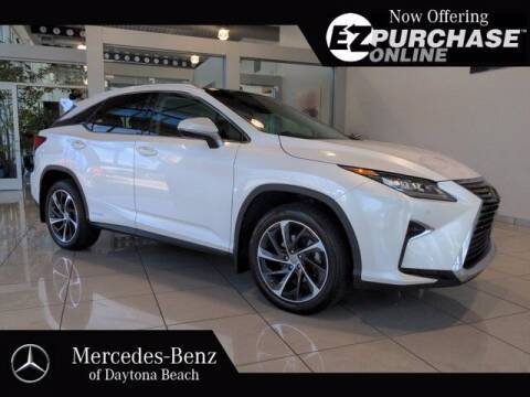 2017 Lexus RX 450h for sale at Mercedes-Benz of Daytona Beach in Daytona Beach FL