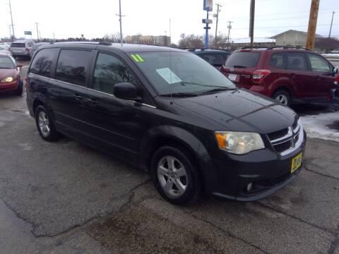 2011 Dodge Grand Caravan for sale at Regency Motors Inc in Davenport IA
