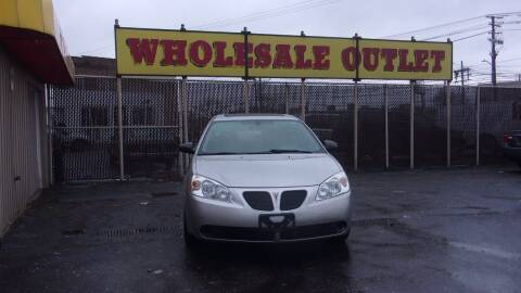 2007 Pontiac G6 for sale at LONG BROTHERS CAR COMPANY in Cleveland OH