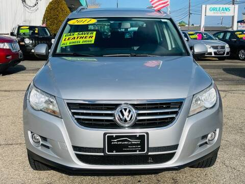 2011 Volkswagen Tiguan for sale at Cape Cod Cars & Trucks in Hyannis MA