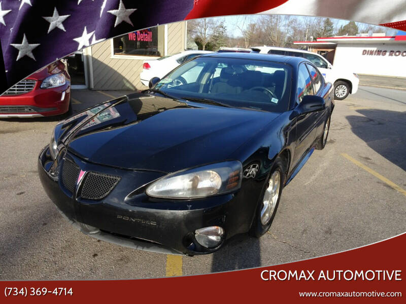 2007 Pontiac Grand Prix for sale at Cromax Automotive in Ann Arbor MI