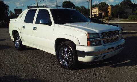 2006 Chevrolet Avalanche for sale at Pinellas Auto Brokers in Saint Petersburg FL