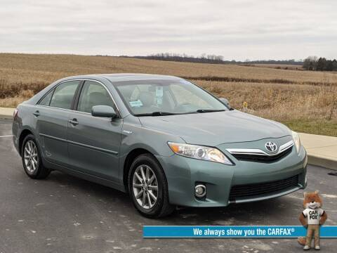 2011 Toyota Camry Hybrid for sale at Bob Walters Linton Motors in Linton IN