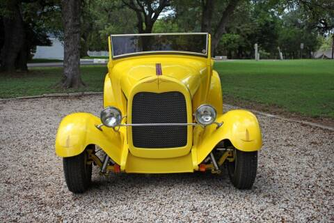 1929 Ford ROADSTER for sale at Village Motors Of Salado in Salado TX