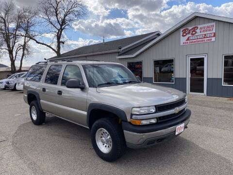2002 Chevrolet Suburban for sale at B & B Auto Sales in Brookings SD