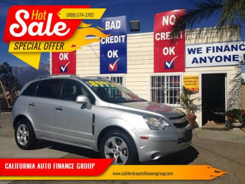2013 Chevrolet Captiva Sport for sale at CALIFORNIA AUTO FINANCE GROUP in Fontana CA