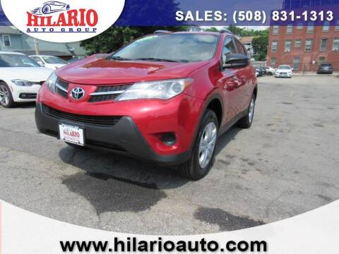 2013 Toyota RAV4 for sale at Hilario's Auto Sales in Worcester MA