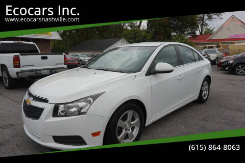 2014 Chevrolet Cruze for sale at Ecocars Inc. in Nashville TN