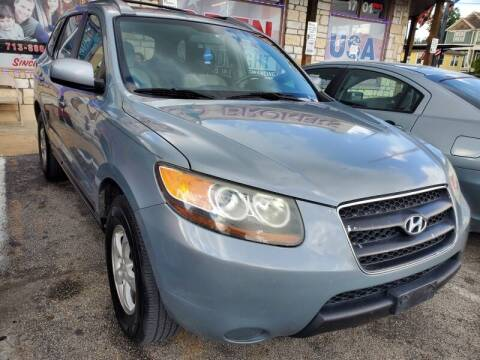 2007 Hyundai Santa Fe for sale at USA Auto Brokers in Houston TX
