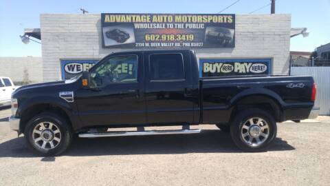 2010 Ford F-350 Super Duty for sale at Advantage Motorsports Plus in Phoenix AZ