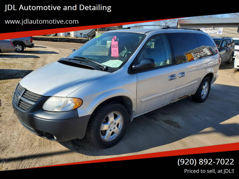 2006 Dodge Grand Caravan for sale at JDL Automotive and Detailing in Plymouth WI