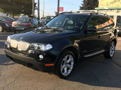 2009 BMW X3 for sale at Capitol Auto Sales in Lansing MI