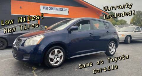 2010 Pontiac Vibe for sale at West Chester Autos in Hamilton OH
