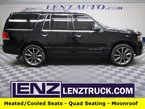 2017 Lincoln Navigator for sale at LENZ TRUCK CENTER in Fond Du Lac WI