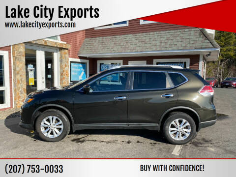 2016 Nissan Rogue for sale at Lake City Exports in Auburn ME
