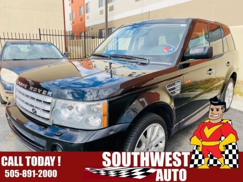 2006 Land Rover Range Rover Sport for sale at SOUTHWEST AUTO in Albuquerque NM
