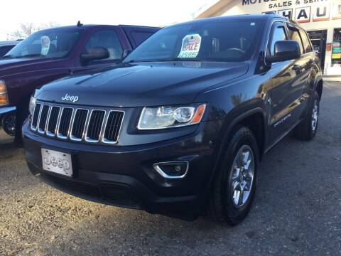 2014 Jeep Grand Cherokee for sale at Motuzas Automotive Inc. in Upton MA