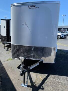 2022 Look Cargo Trailer LSCAA6.0X12S12FC for sale at Siamak's Car Company llc in Salem OR