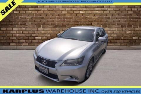 2013 Lexus GS 350 for sale at Karplus Warehouse in Pacoima CA