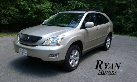 2005 Lexus RX 330 for sale at Ryan Motors LLC in Warsaw IN