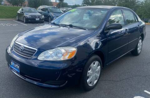 2008 Toyota Corolla for sale at SOUTH AMERICA MOTORS in Sterling VA