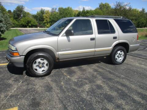 2004 Chevrolet Blazer for sale at Crossroads Used Cars Inc. in Tremont IL