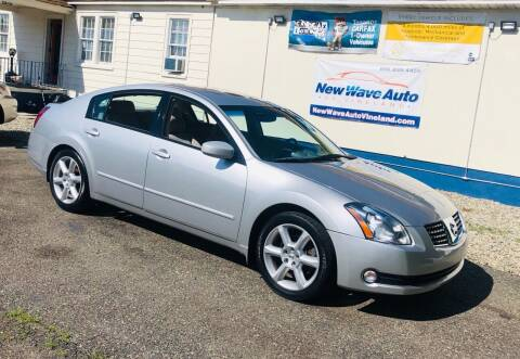 2004 Nissan Maxima for sale at New Wave Auto of Vineland in Vineland NJ