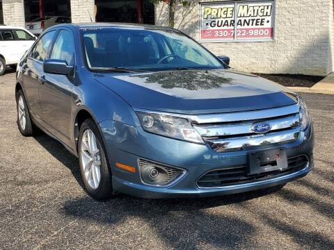 2012 Ford Fusion for sale at Ken Ganley Nissan in Medina OH