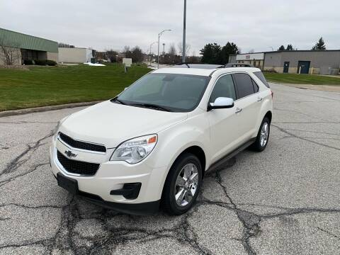 2014 Chevrolet Equinox for sale at JE Autoworks LLC in Willoughby OH