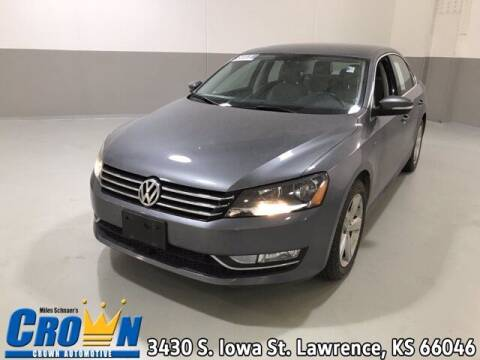 2015 Volkswagen Passat for sale at Crown Automotive of Lawrence Kansas in Lawrence KS
