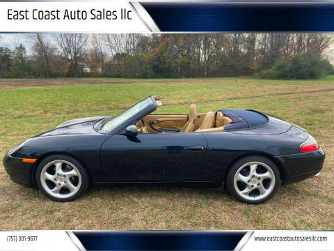 2001 Porsche 911 for sale at East Coast Auto Sales llc in Virginia Beach VA