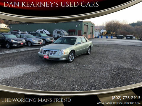 2007 Cadillac DTS for sale at DAN KEARNEY'S USED CARS in Center Rutland VT