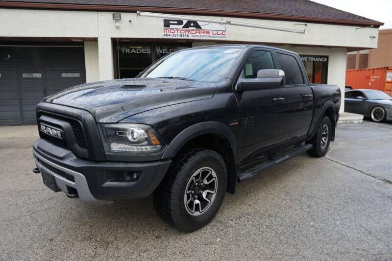 2016 RAM Ram Pickup 1500 for sale at PA Motorcars in Conshohocken PA