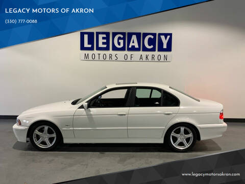 2002 BMW 5 Series for sale at LEGACY MOTORS OF AKRON in Akron OH