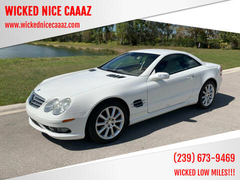 2004 Mercedes-Benz SL-Class for sale at WICKED NICE CAAAZ in Cape Coral FL