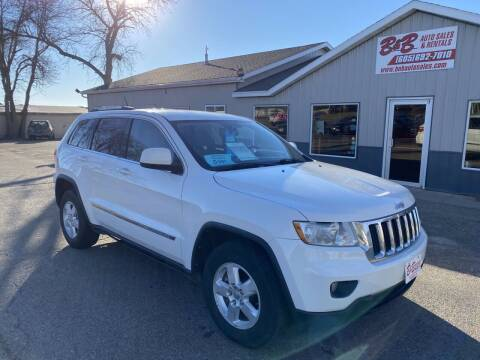 2012 Jeep Grand Cherokee for sale at B & B Auto Sales in Brookings SD
