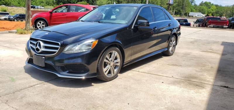 2016 Mercedes-Benz E-Class for sale at WHOLESALE AUTO GROUP in Mobile AL