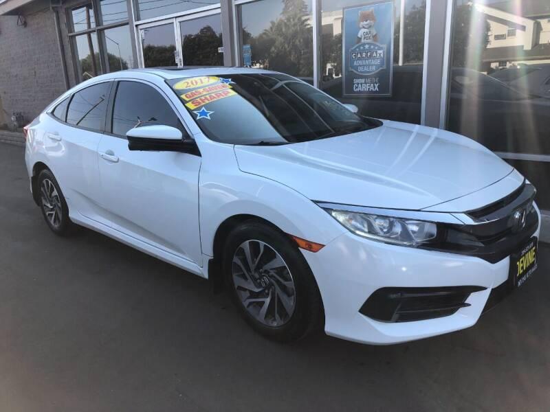 2017 Honda Civic for sale at Devine Auto Sales in Modesto CA