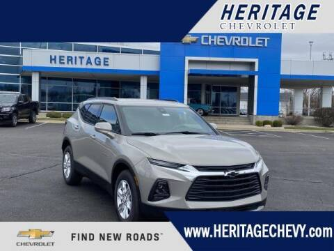 2021 Chevrolet Blazer for sale at HERITAGE CHEVROLET INC in Creek MI