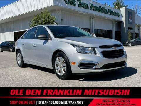 2015 Chevrolet Cruze for sale at Ole Ben Franklin Mitsbishi in Oak Ridge TN