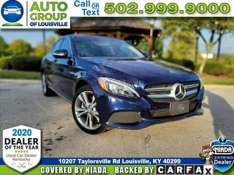 2015 Mercedes-Benz C-Class for sale at Auto Group of Louisville in Louisville KY