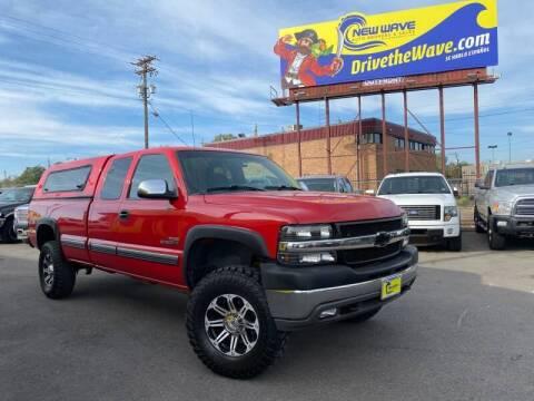 2002 Chevrolet Silverado 2500HD for sale at New Wave Auto Brokers & Sales in Denver CO