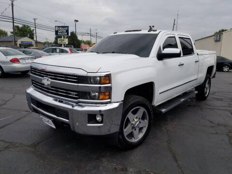 2015 Chevrolet Silverado 2500HD for sale at Larry Schaaf Auto Sales in Saint Marys OH