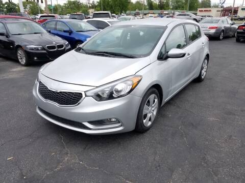 2016 Kia Forte5 for sale at Nonstop Motors in Indianapolis IN