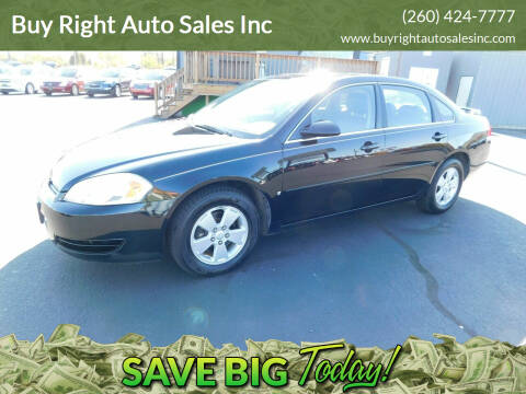 2008 Chevrolet Impala for sale at Buy Right Auto Sales Inc in Fort Wayne IN
