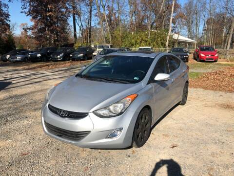2013 Hyundai Elantra for sale at Noble PreOwned Auto Sales in Martinsburg WV