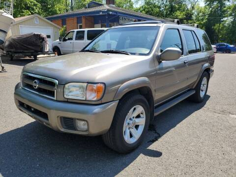 2002 Nissan Pathfinder for sale at CENTRAL AUTO GROUP in Raritan NJ